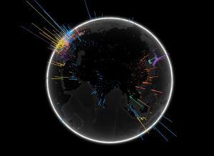 Google Search Globe Screenshot